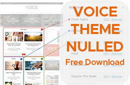 Voice theme free download: Nulled Magazine WordPress Theme by meks
