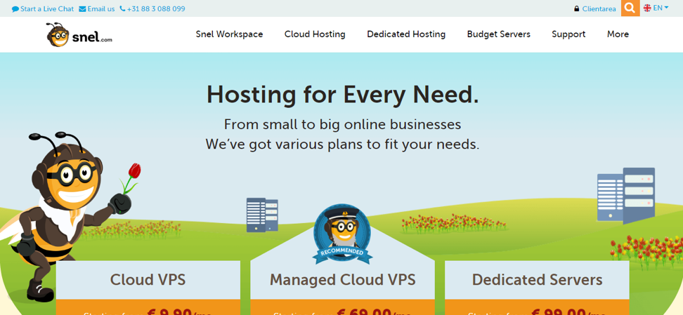 Why Snel.com Hosting Is Better Than Other Hosting?