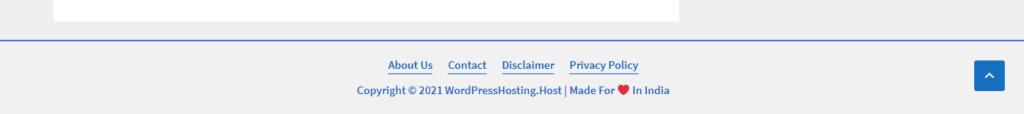 Edit Footer in WordPress